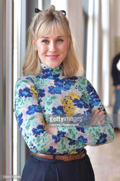 Actress Marlene Morreis during the BR Film Brunch at Literaturhaus on January 17, 2020 in Munich, Germany.