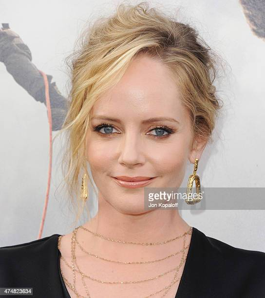 """Actress Marley Shelton arrives at the Premiere Of Warner Bros. Pictures' """"San Andreas"""" at TCL Chinese Theatre on May 26, 2015 in Hollywood,..."""