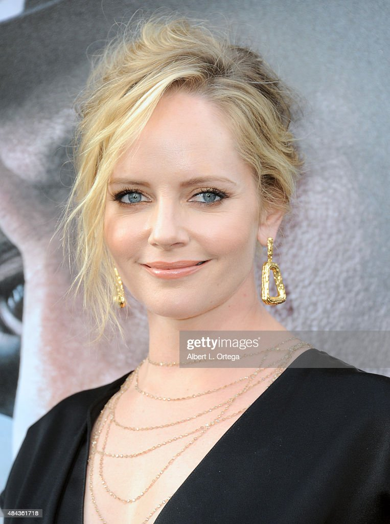 Actress Marley Shelton arrives for the Premiere Of Warner Bros. Pictures' 'San Andreas' held at TCL Chinese Theatre on May 26, 2015 in Hollywood, California.