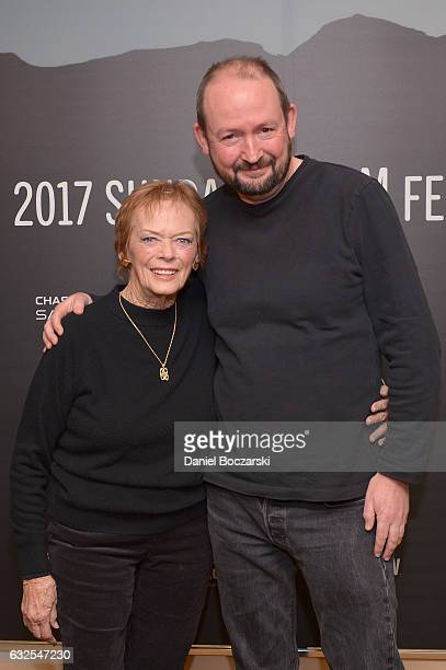 Actress Marli Renfro and producer Felix Gill attend the 78/52 Premiere at Egyptian Theatre on January 23 2017 in Park City Utah