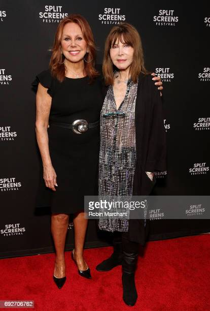 Actress Marlo Thomas and Lee Grant attend Legacy Award Honoring Lee Grant during 2017 IFC Split Screens Festival at IFC Center on June 5 2017 in New...