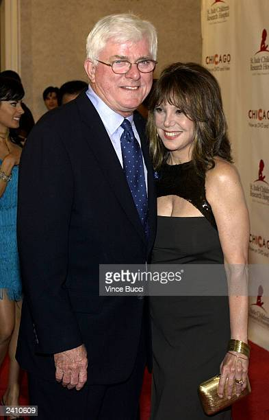 Actress Marlo Thomas and Phil Donahue attend the 2nd Annual Runway for Life celebrity fashion show benefiting St Jude Children's Research Hospital...