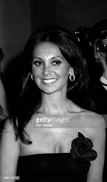 Actress Marlo Thomas attends The Metropolitan Museum of Art Costume Ehixition The Glory of Russian Costume on December 6 1976 at the Metropolitan...