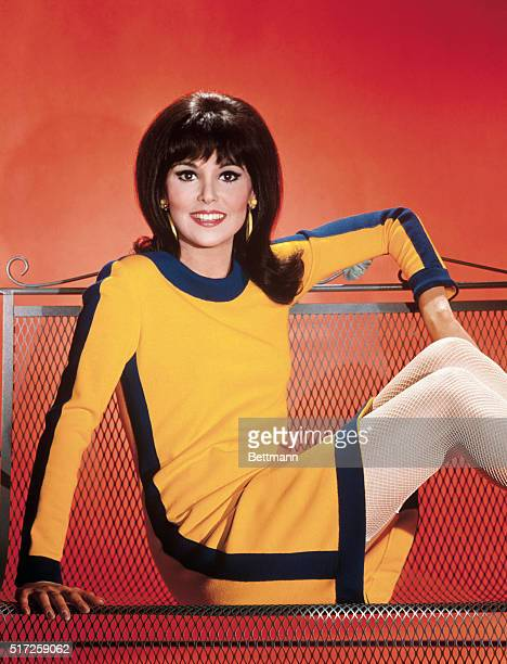 Actress Marlo Thomas, currently in TV series, That Girl.