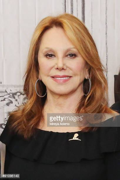 Actress Marlo Thomas visits Build to discuss St Jude at Build Studio on December 12 2017 in New York City