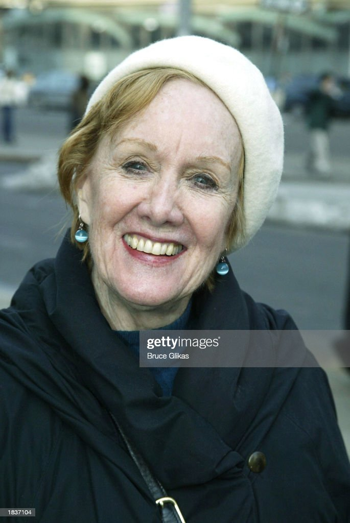 Actress Marni Nixon poses after the opening weekend of the New York City Opera's production of Stephen Sondheim's 'A Little Night Music' at The New York State Theater at the Lincoln Center on March 8, 2003 in New York City.