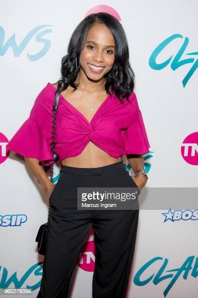Actress Marquita Goings attends 'Claws' Season 2 Atlanta premiere at Regal Atlantic Station on May 19 2018 in Atlanta Georgia