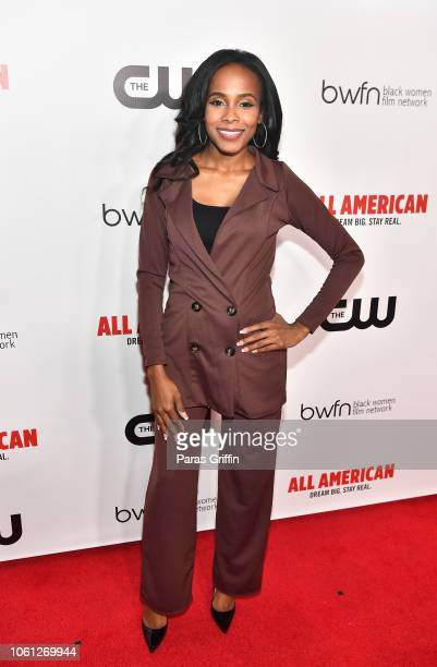 Actress Marquita Goings attends The CW and the Black Women Film Network presents All American special screening at Regal Atlantic Station on November...
