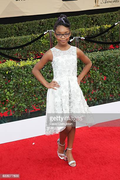 Actress Marsai Martin attends the 23rd Annual Screen Actors Guild Awards at The Shrine Expo Hall on January 29 2017 in Los Angeles California