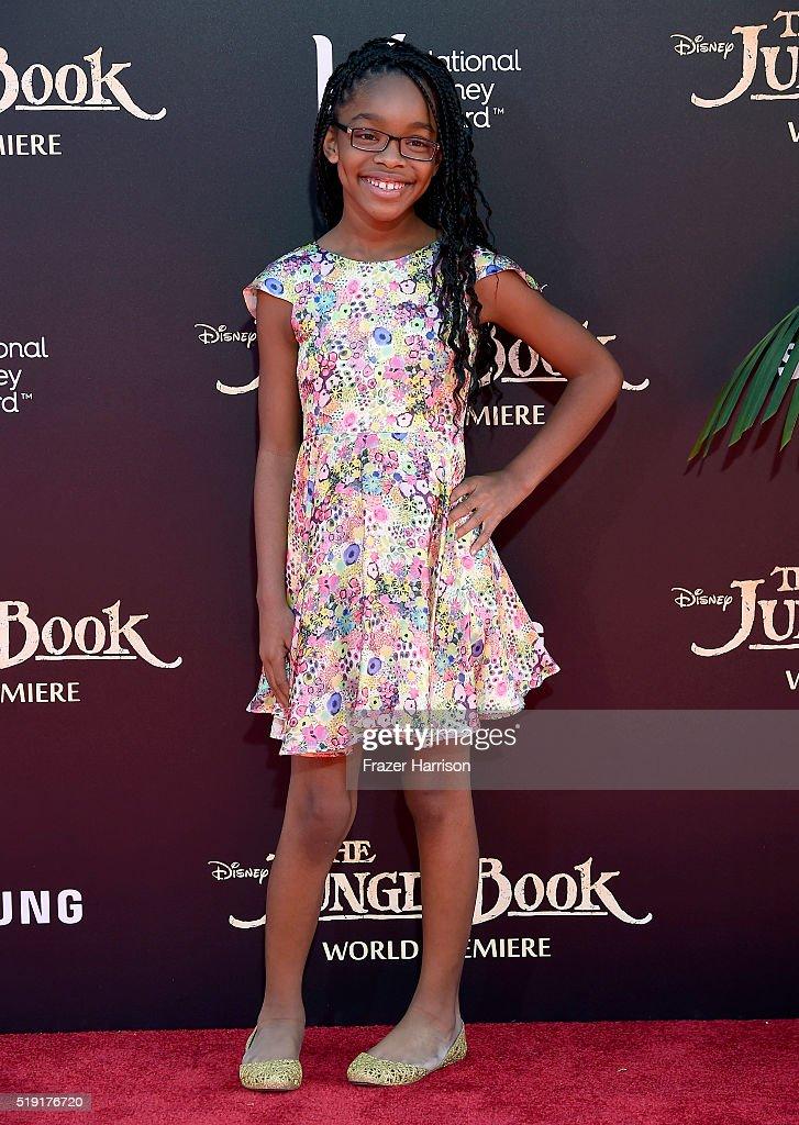 "Premiere Of Disney's ""The Jungle Book"" - Arrivals"