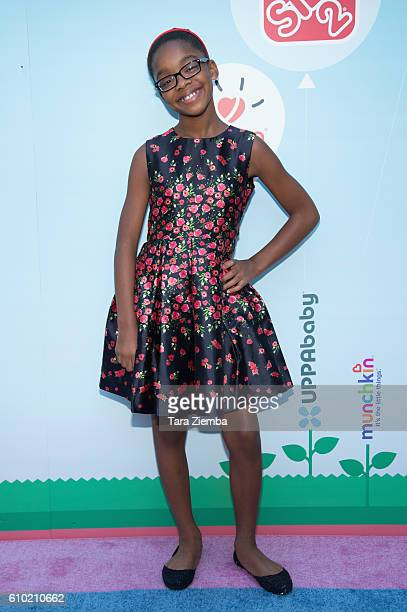 Actress Marsai Martin attends the Step2 Favoredby Present The 5th Annual Red Carpet Safety Awareness Event at Sony Pictures Studios on September 24...