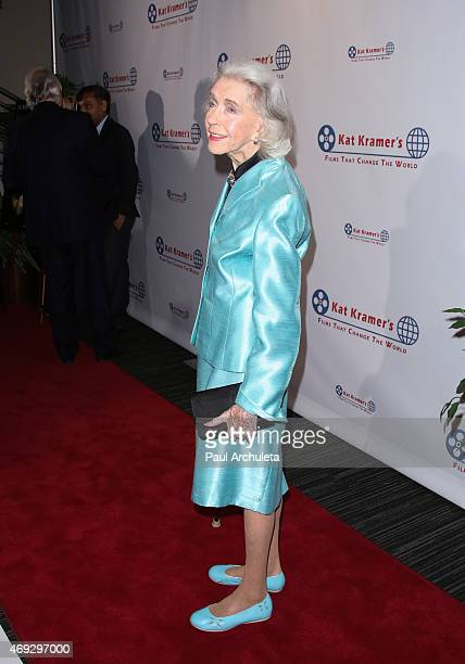 Actress Marsha Hunt attends the 7th Annual Annual Films That Change The World with the screening of Bhopal A Prayer For Rain at The Canon USA Inc...