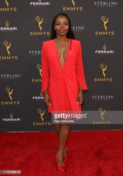 Actress Marsha Stephanie Blake attends the Television Academy's Performers Peer Group Celebration at Saban Media Center on August 25 2019 in North...