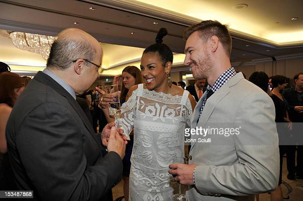 Actress Marsha Thomason and Craig Sykes and guest attend the 8th Annual GLSEN Respect Awards held at Beverly Hills Hotel on October 5 2012 in Beverly...