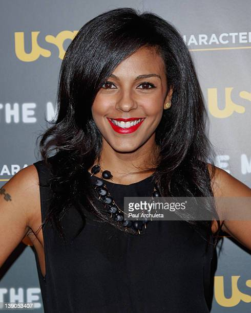 Actress Marsha Thomason attends the USA Network and The Moth presentation of A More Perfect Union Stories Of Prejudice And Power at Pacific Design...