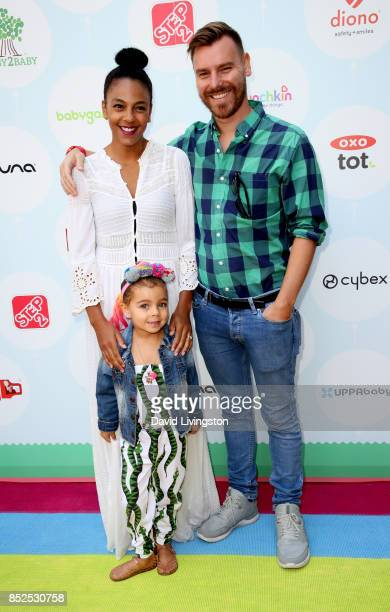Actress Marsha Thomason Craig Sykes and Tallulah Sykes attend the 6th Annual Celebrity Red CARpet Safety Awareness Event at Sony Studios Commissary...