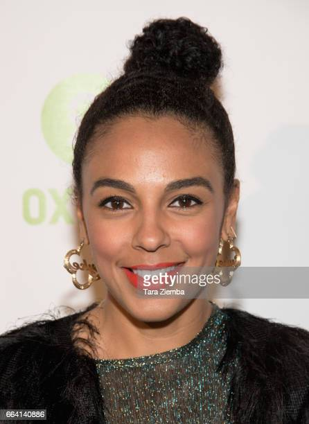 Actress Marsha Thomason Sykes attends Comedy Not Conflict at The Viper Room on April 2 2017 in West Hollywood California