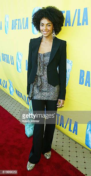 Actress Marsha Thompson arrives at the 11th Annual BAFTA/LA Tea Party at Park Hyatt Los Angeles Hotel on January 15 2005 in Los Angeles California