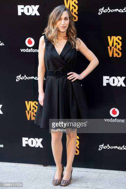 Actress Marta Aledo attends to presentation of Season 4 of Vis a Vis series in Madrid Spain November 29 2018