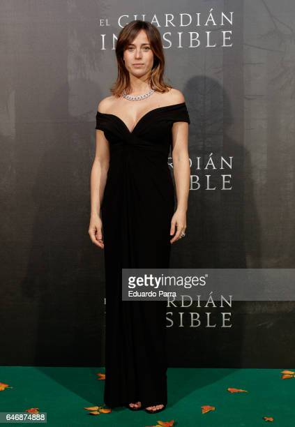 Actress Marta Etura attends the 'El guardian invisible' premiere at Capitol cinema on March 1 2017 in Madrid Spain