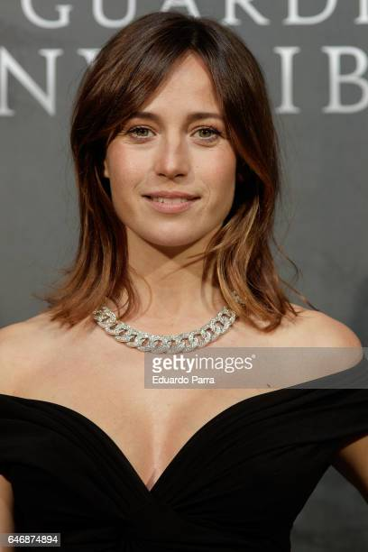 Actress Marta Etura attends the 'El guardian invisible' premiere at Capitol cinema on March 1, 2017 in Madrid, Spain.