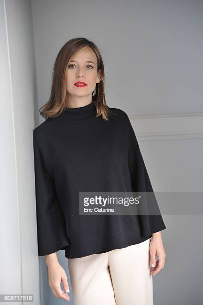 Actress Marta Etura is photographed for Self Assignment on September 17 2016 in San Sebastian, Spain.