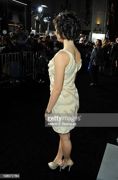 Actress Marta Gastini arrives at Warner Bros The Rite premiere at Grauman's Chinese Theatre on January 26 2011 in Los Angeles California