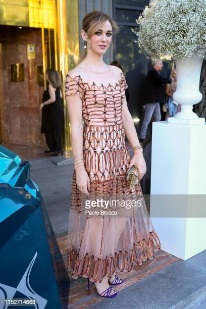 Actress Marta Hazas arrives at ELLE Charity Gala 2019 to raise funds for cancer at Intercontinental Hotel on May 30 2019 in Madrid Spain