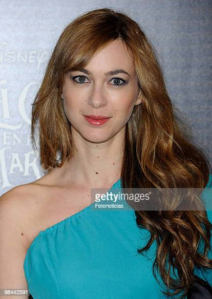 Actress Marta Hazas attends 'Alicia en el Pais de las Maravillas' premiere at Proyecciones Cinema on April 13 2010 in Madrid Spain