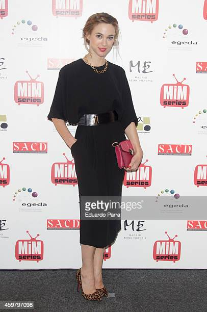 Actress Marta Hazas attends MIM awards photocall at ME hotel on December 1 2014 in Madrid Spain