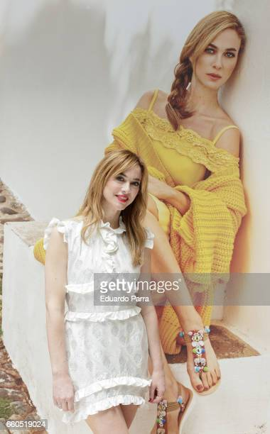 Actress Marta Hazas attends the 'Merkal fashion show' photocall at Santo Domingo hotel on March 30 2017 in Madrid Spain