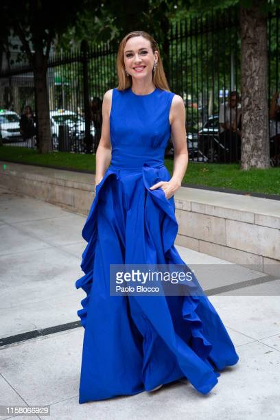 Actress Marta Hazas is seen arriving at 'Yo Dona' International Awards 2019 at ThyssenBornemisza Museum on June 24 2019 in Madrid Spain