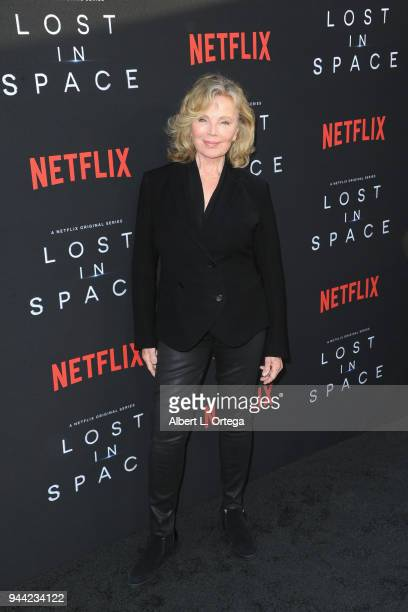Actress Marta Kristen arrives for the Premiere Of Netflix's 'Lost In Space' Season 1 held at The Cinerama Dome on April 9 2018 in Los Angeles...