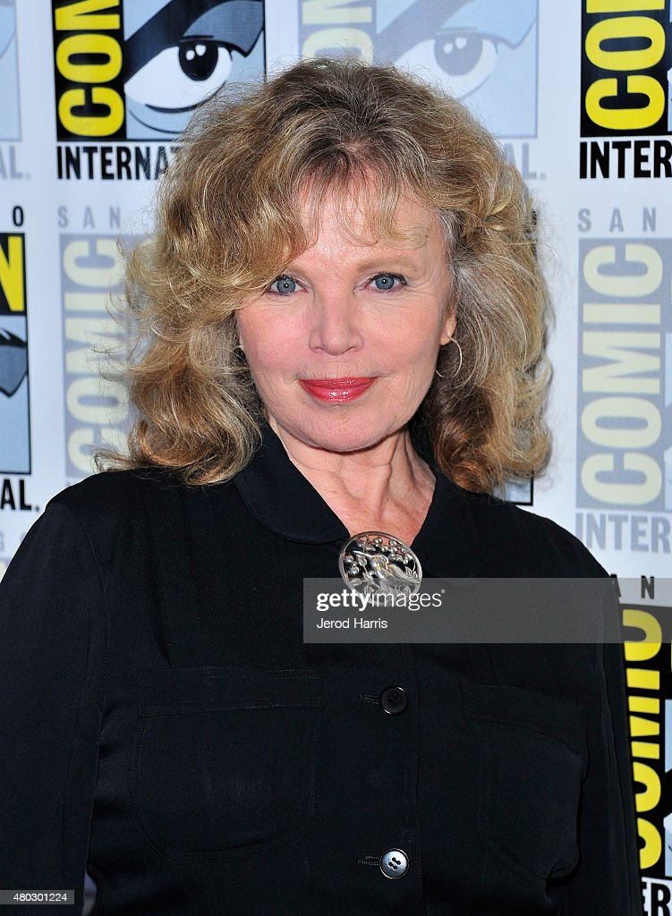 Actress Marta Kristen attends 'Lost In Space' Press Room during Comic-Con International 2015 at Hilton Bayfront on July 10, 2015 in San Diego, California.