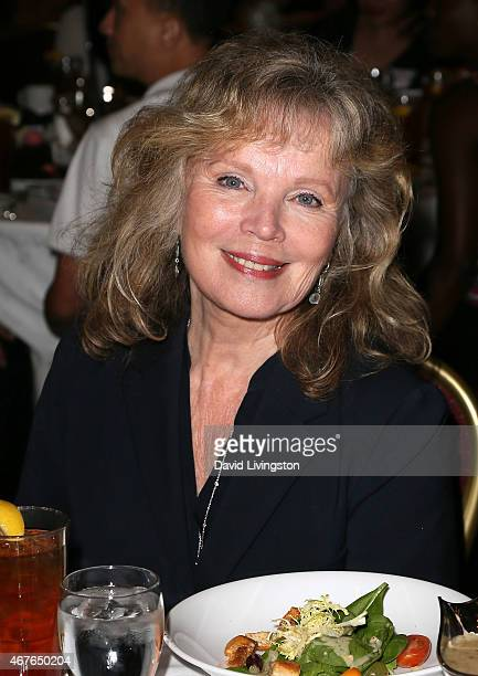 Actress Marta Kristen attends the Hollywood Chamber of Commerce honoring actress June Lockhart with it's Lifetime Achievement Award at the Universal...