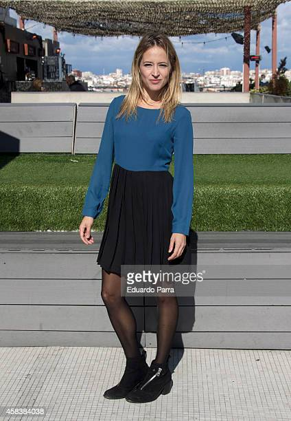 Actress Marta Larralde attendes 'JustiCia' photocall at Circulo de Bellas Artes on November 4 2014 in Madrid Spain