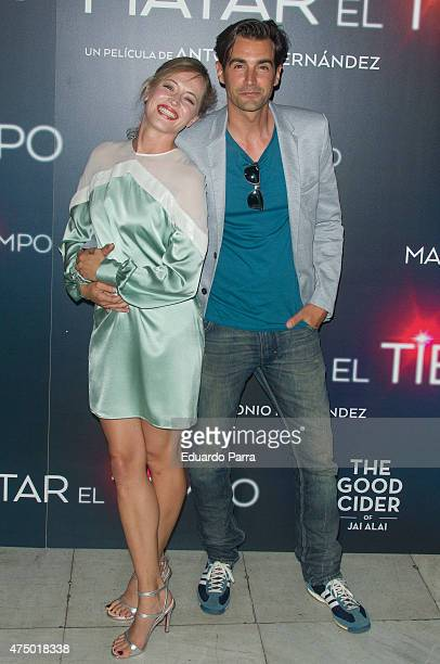 Actress Marta Larralde attends 'Matar el tiempo' premiere at Capitol cinema on May 28 2015 in Madrid Spain