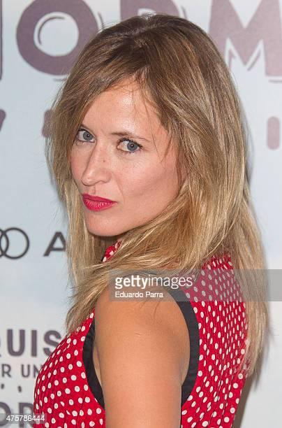Actress Marta Larralde attends 'Requisitos para ser una persona normal' premiere at Palafox cinema on June 3 2015 in Madrid Spain