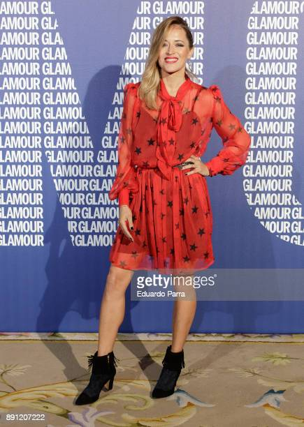 Actress Marta Larralde attends the Glamour Magazine Awards photocall at Ritz hotel on December 12 2017 in Madrid Spain