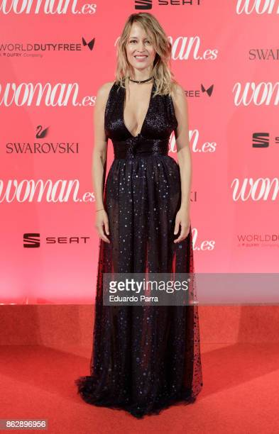 Actress Marta Larralde attends the 'Woman 25th anniversary' photocall at Madrid Casino on October 18 2017 in Madrid Spain