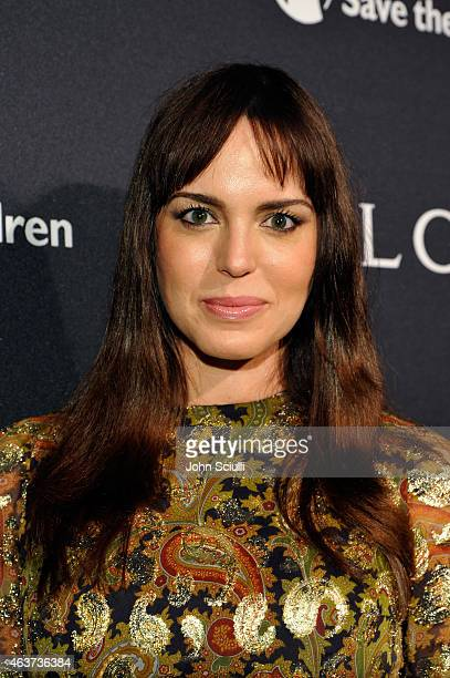 Actress Marta Milans attends BVLGARI and Save The Children STOP THINK GIVE PreOscar Event at Spago on February 17 2015 in Beverly Hills California