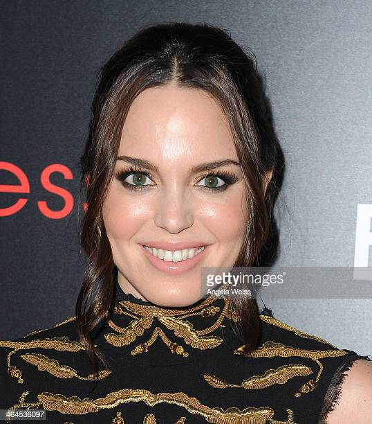 Actress Marta Milans attends The Entertainment Weekly Celebration honoring this year's SAG Awards Nominees sponsored by TNT TBS and essie at Chateau...