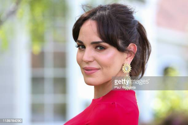 Actress Marta Milans visits Hallmark's Home Family at Universal Studios Hollywood on April 01 2019 in Universal City California