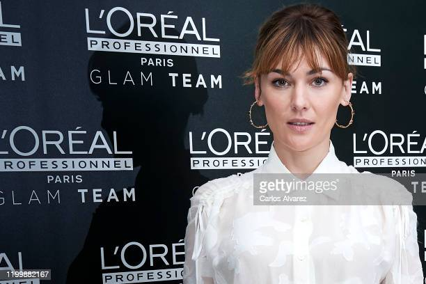 Actress Marta Nieto attends L'Oreal Professionnel presentation at Ramses on January 16, 2020 in Madrid, Spain.