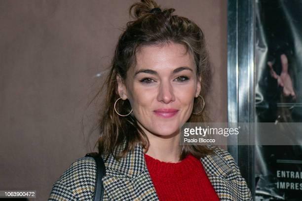 Actress Marta Nieto attends Mastodonte's concert at Barcelo Club in Madrid on November 20 2018 in Madrid Spain