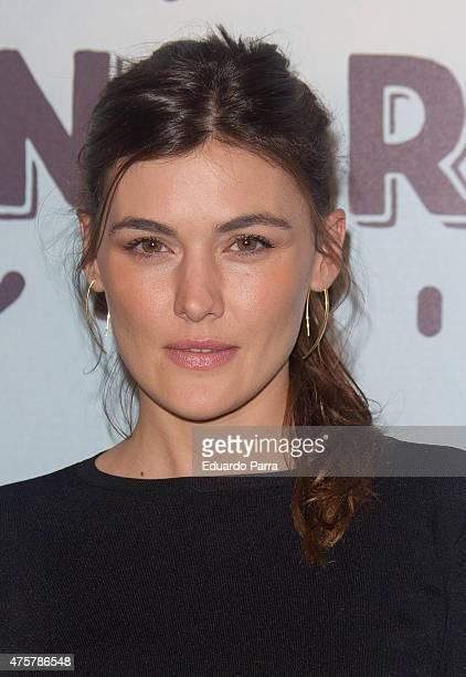 Actress Marta Nieto attends 'Requisitos para ser una persona normal' premiere at Palafox cinema on June 3 2015 in Madrid Spain