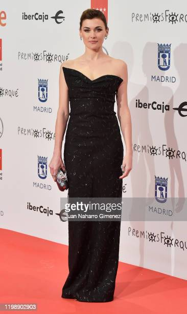Actress Marta Nieto attends the red carpet during 'Jose Maria Forque Awards' 2020 at Ifema on January 11 2020 in Madrid Spain