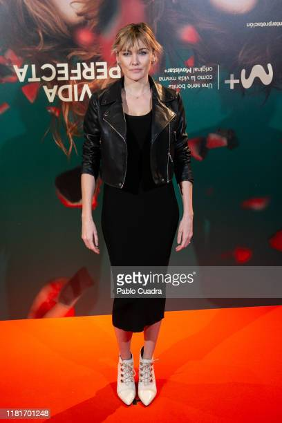 Actress Marta Nieto attends the Vida Perfecta premiere at Verdi cinema on October 17, 2019 in Madrid, Spain.