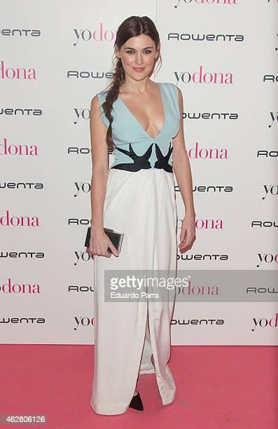 Actress Marta Nieto attends 'Yo Dona' party photocall at Shoko disco on February 5 2015 in Madrid Spain