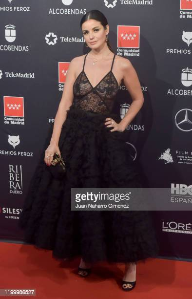 Actress Marta Torné attends Feroz awards 2020 red carpet at Teatro Auditorio Ciudad de Alcobendas on January 16 2020 in Madrid Spain